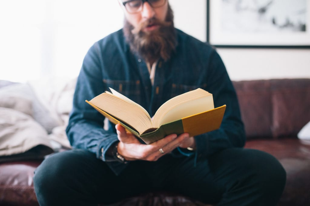 Book Reading Guy